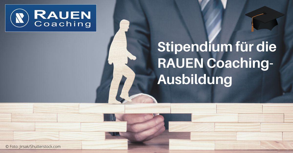 Stipendium für die RAUEN Coaching-Ausbildung