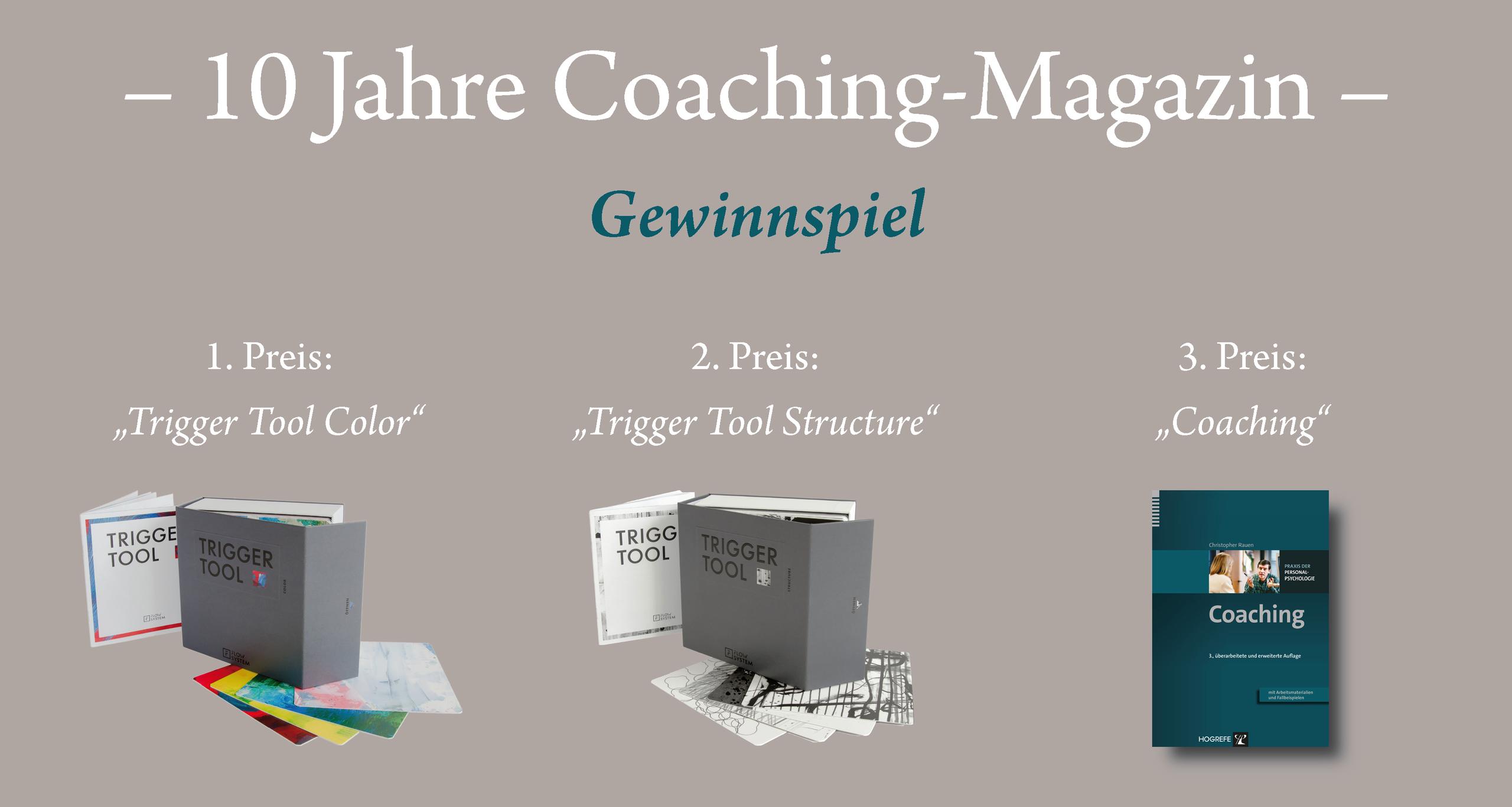 Gewinnspiel zum Jubiläum des Coaching-Magazins