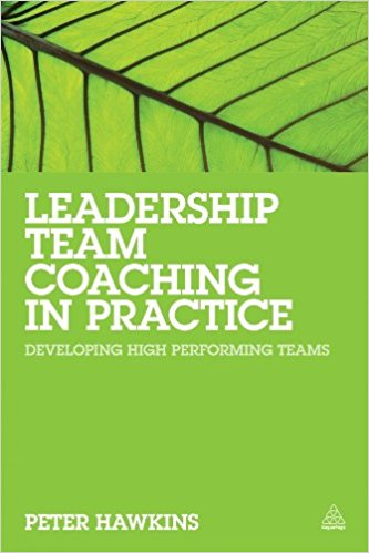 Cover Leadership Team Coaching in Practice