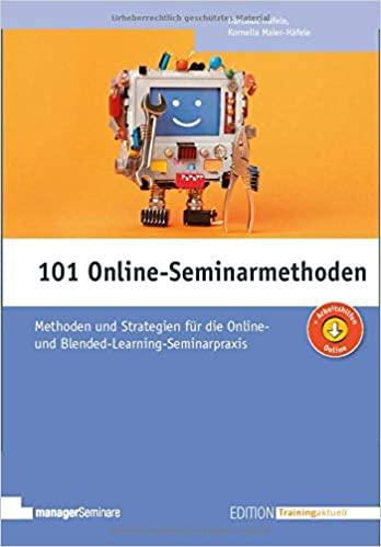Cover 101 Online-Seminarmethoden
