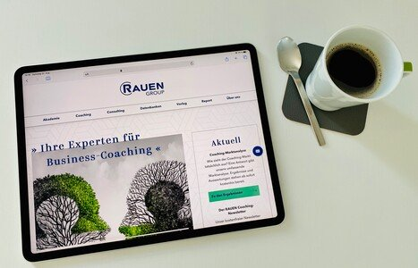 Neue Homepage der RAUEN Group