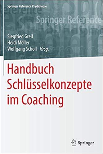 Cover Handbuch Schlüsselkonzepte im Coaching.