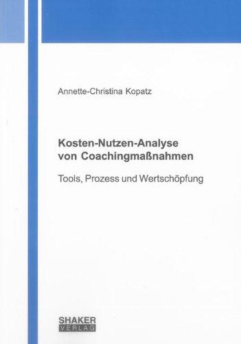 Cover Kosten-Nutzen-Analyse von Coachingmaßnahmen